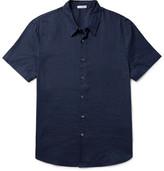 James Perse Slim-Fit Linen Shirt