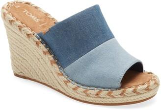 Toms Monica Wedge Slide Sandal