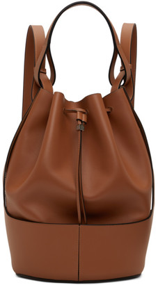 Loewe Tan Balloon Backpack