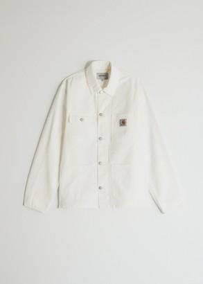 Carhartt WIP Men's Michigan Coat in Off-White, Size Small