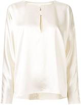 Yumi La Collection satin blouse