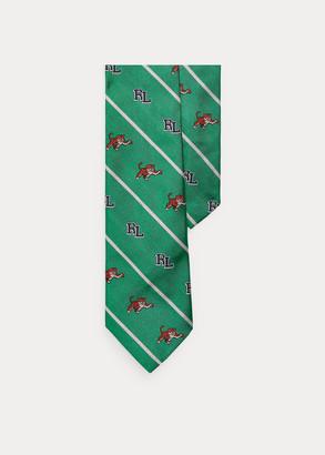 Ralph Lauren RL Tiger Silk Narrow Tie
