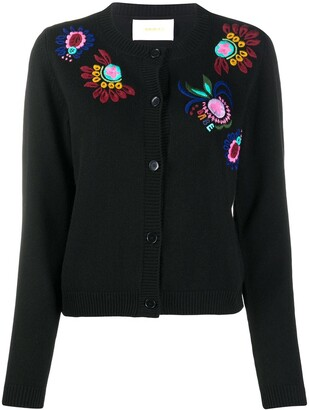 La DoubleJ Embroidered Cardigan