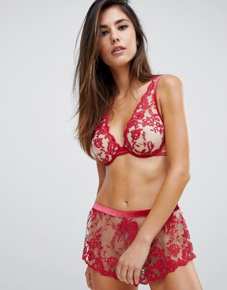 Cosabella Rosie Velvet Short-Red