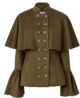 Caroline Constas Johan Bell Sleeve Coat