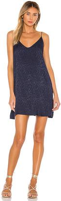 Nation Ltd. Penelope V Back Slip Dress