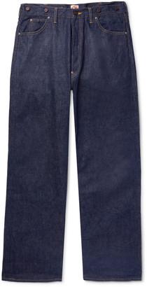 Chimala Wide-Leg Selvedge Denim Jeans - Men - Blue