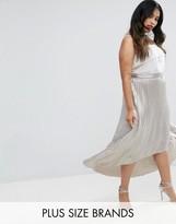 Coast Plus Paige Metallic Maxi Skirt