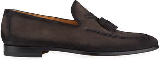 Magnanni Men's Super Flex Tassel Leather Loafers
