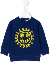 Stella McCartney smiley sweatshirt - kids - Cotton - 9 mth