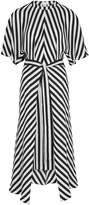 Stella McCartney Penelope Striped Silk Dress