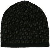 Fendi FF logo beanie - men - Wool - One Size
