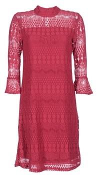 Cream HARPUO women's Dress in Red