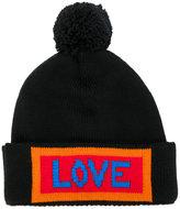 Fendi Love embroidered beanie
