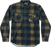 RVCA Men's Wayman Plaid Long Sleeve Shirt