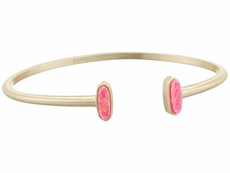 Kendra Scott Mavis Bracelet Gold/Hot Pink Opal One Size
