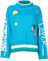 Mira Mikati patch details jumper