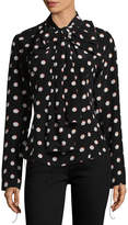 Marc Jacobs Women's Long-sleeved Shirt With Bow