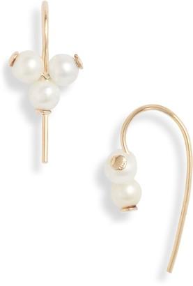 Poppy Finch Cluster Pearl Earrings