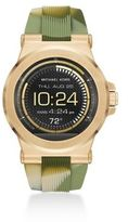 Michael Kors Access Dylan Camo Silicone Watch Strap