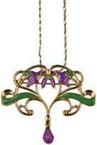 Summit Flower Vine Pendant - Collectible Medallion Necklace Accessory Jewelry