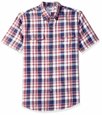 Essentials Slim-fit Short-Sleeve Two-Pocket Twill