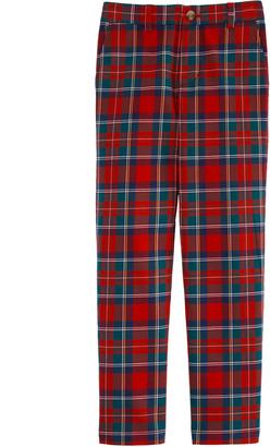 Vineyard Vines Boys' Holiday Plaid Breaker Pants