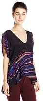 Plenty by Tracy Reese Women's Petal Sleeve Printed Tunic Top