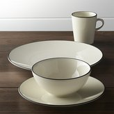 Crate & Barrel Kita 4-Piece Place Setting