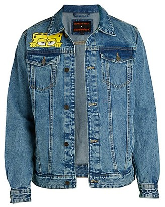 Members Only Spongebob Denim Jacket