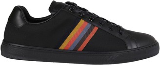 Paul Smith Black Leather Sneakers