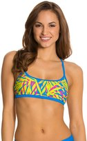 Speedo Active Print Skinny Back Swimsuit Top 8121982