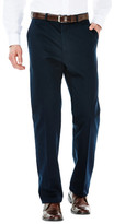 Haggar Work To Weekend Khakis - Classic Fit, Flat Front, Hidden Expandable Waistband