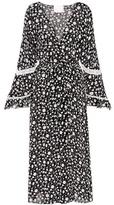 Athena Procopiou Night Dream printed silk kimono