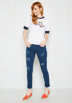 Dollhouse Return the Flavor Jeans in Blueberry