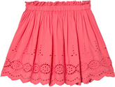 Cyrillus Pink Broderie Anglaise Skirt