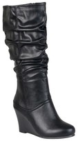 Journee Collection Women's Slouchy Wedge Boots