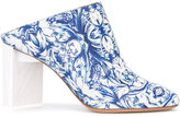 Maison Margiela printed mules - women - Calf Leather - 40