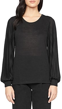 Sanctuary All Out Pleated Top