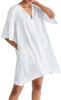 Madewell Women's Bell Sleeve Shirtdress