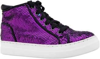 Nina Caroleen Reversible Sequin High Top Sneaker