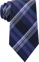 STAFFORD Stafford Lakefront Plaid Tie - Extra Long