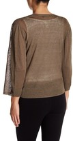 Nic+Zoe All Day Linen Blend Cardigan (Petite)