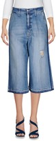 (+) People + PEOPLE Denim capris - Item 42609761