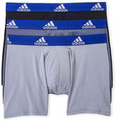 adidas 3-Pack Climalite Boxer Briefs