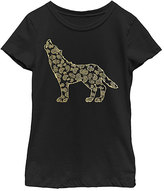 Fifth Sun Black Wolf Tee - Girls