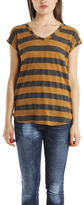 Giada Forte Stripe Scoop Neck Tee