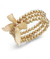 Charter Club Gold-Tone Stretch Bracelets Set