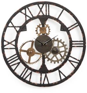 Graham & Brown Metal Cogsworth Clock