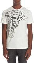 Versace Men's Exploded Medusa Logo T-Shirt